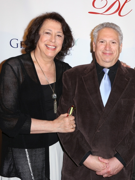 Manhattan Theatre Club artistic director Lynne Meadow and Casa Valentina playwright Harvey Fierstein