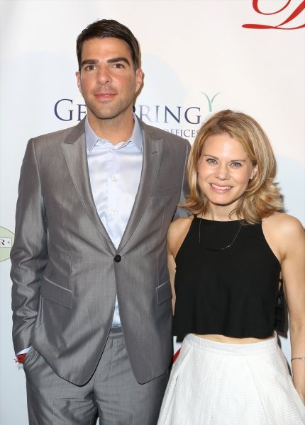 Zachary Quinto and Celia Keenan-Bolger