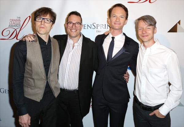 Stephen Trask, Michael Mayer, Neil Patrick Harris, and John Cameron Mitchell