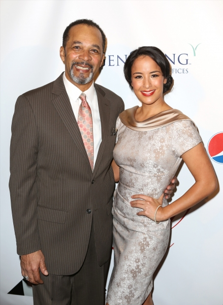 Clifton Davis and Courtney Reed