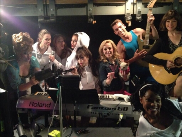 Photo Flash: Saturday Intermission Pics, 5/17- BRIDGES Says Farewell, A ROCKY Wedding and More!