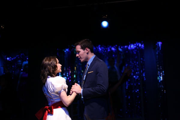 Tony and Maria meet for the first time: Lianne Gennaco as Maria and John Hannigan as  Photo