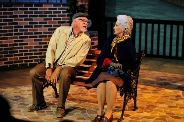 BWW Reviews: THE LAST ROMANCE Captures A Bittersweet Love Story Blossoming On A Dog Park Bench