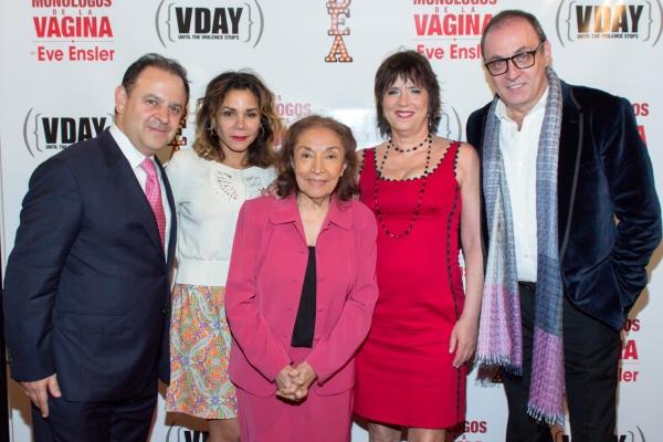Federico Gonzalez Compean, Daphne Rubin-Vega, Miriam Colon, Eve Ensler, Morris Gilbert