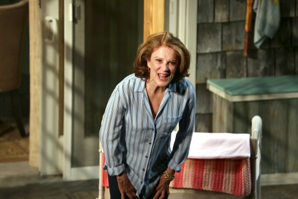 Photo Coverage: Linda Lavin & Cast of TOO MUCH SUN Take Opening Night Bows
