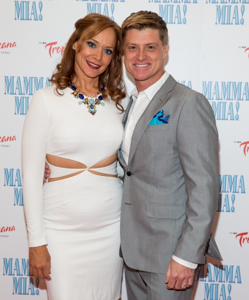 Photo Flash: Cast of MAMMA MIA! Celebrates Opening Night at New Tropicana Las Vegas