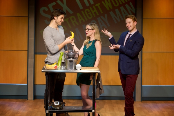 Photo Flash: First Look at Grant MacDermott, Rachel Moulton & Keith Hines in Off-Broadway's 'SEX TIPS'