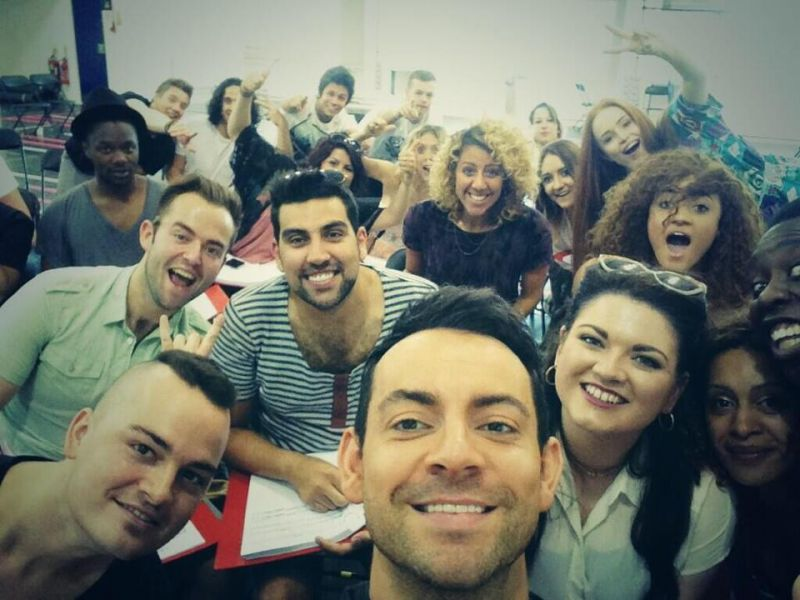 First Look At JESUS CHRIST SUPERSTAR US Arena Tour In Rehearsal & Cast Tweets