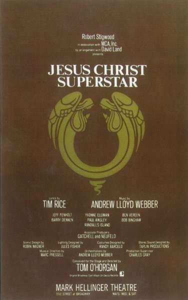 30 Days Of The 2014 Tony Awards: Day #20 - JESUS CHRIST SUPERSTAR