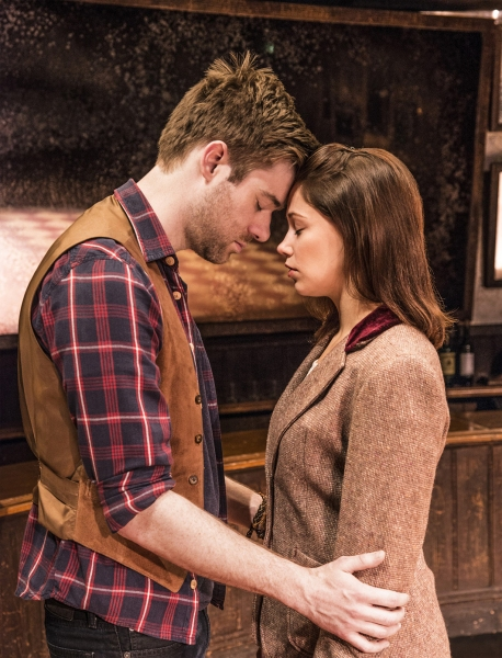 Photo Flash: First Look at David Hunter and Jill Winternitz in West End's ONCE