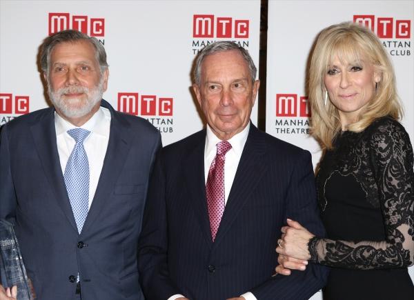 Tom Secunda, Michael Bloomberg and Judith Light