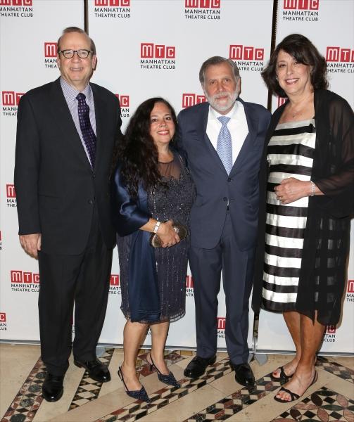 Barry Grove, Cindy Secunda, Tom Secunda and Lynne Meadow