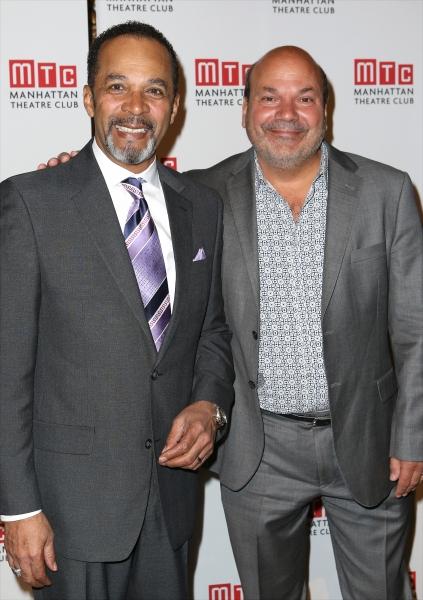 Clifton Davis and Casey Nichols