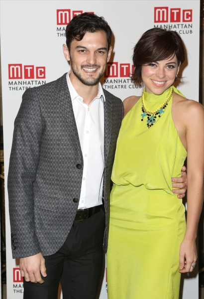 Wesley Taylor and Krysta Rodriguez