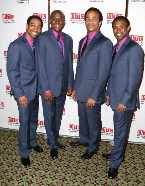 ''Beautiful'' cast members: E. Clayton Cornelius, Douglas Lyons, James Harkness and Alan Wiggins