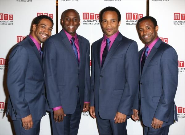 ''Beautiful'' cast members: E. Clayton Cornelius, Douglas Lyons, James Harkness and Alan Wiggins