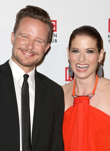 Will Chase and Debra Messing