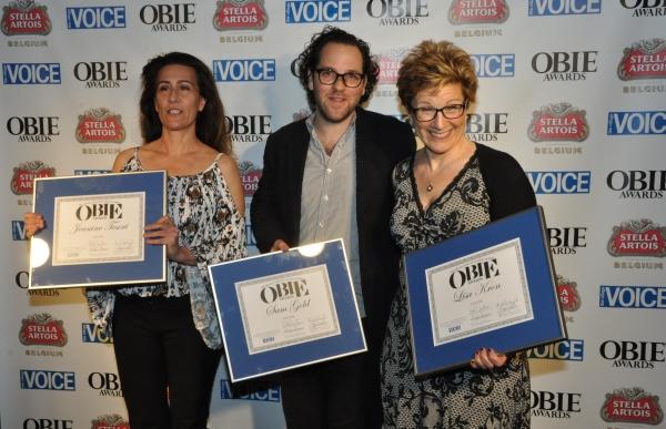 Photo Coverage: Obie Award Winners Celebrate Backstage!