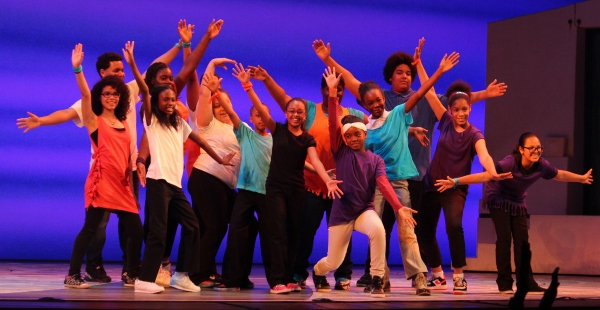 Photo Coverage: Denzel Washington Celebrates Talented Youth at BROADWAY JUNIOR!