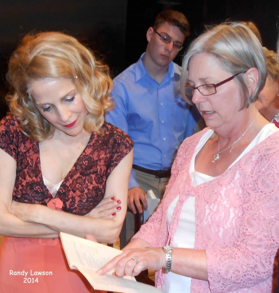 Photo Flash: Relatives of William Inge Visit Peccadillo's A LOSS OF ROSES