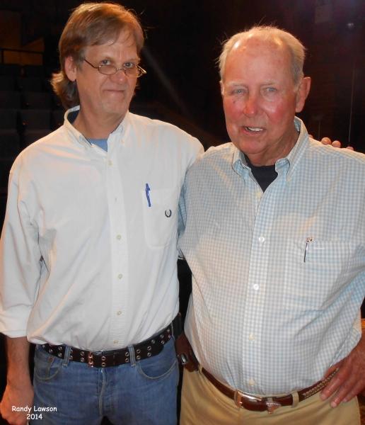 RANDY LAWSON and JAMES A. MAHAN Photo