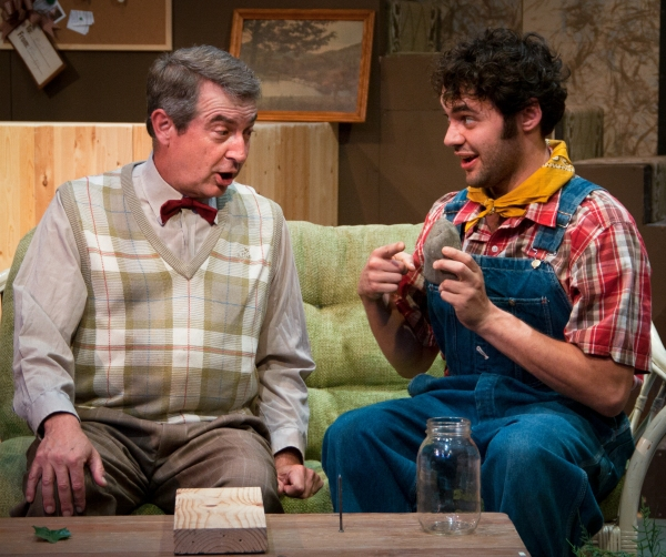 (L to R): David Stahl and Stephen Mercantel in Austin Playhouse''s production of THE  Photo