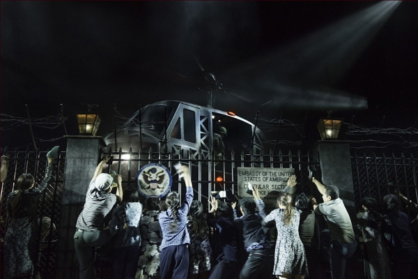 Photo Flash: New Shots of MISS SAIGON in Action; Opens in the West End Tomorrow!