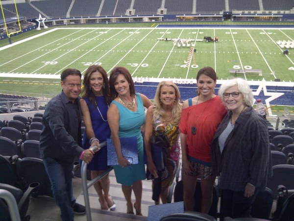 Eugene Pack, Charlotte Jones Anderson, Kelli McGonagill Finglass,  Judy Trammell, Melissa Rycroft, Betty Buckley