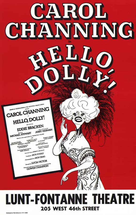 30 Days Of The 2014 Tony Awards: Day #17 - HELLO, DOLLY!