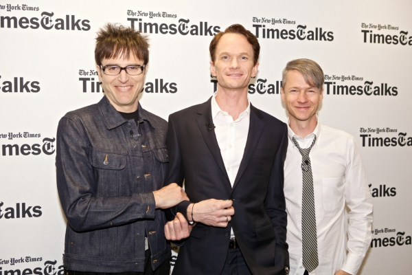 Photo Flash: HEDWIG's Neil Patrick Harris, John Cameron Mitchell and Stephen Trask at TimesTalks