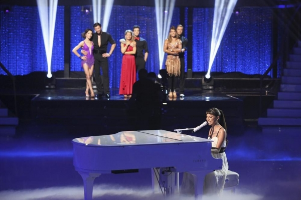 DANCING WITH THE STARS - ''Episode 1810A'' - The finale featured musical performances by Christina Perri singing her ballad ''Human,'' on the Season Finale, TUESDAY, MAY 20 (9:00-11:00 p.m., ET) on the ABC Television Network. (ABC/Adam Taylor)MERYL DAVIS,