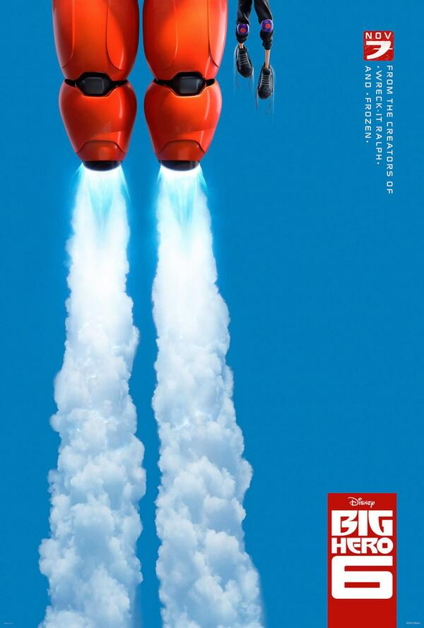 VIDEO: New Teaser Trailer & Poster for Disney's BIG HERO 6