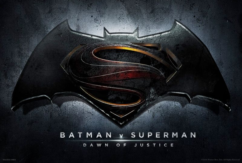 Warner Bros Reveals Title, Logo for BATMAN V SUPERMAN: DAWN OF JUSTICE; Filming Underway