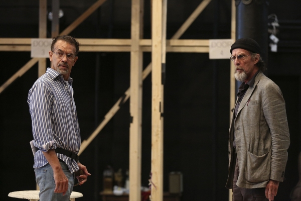 Brian Stokes Mitchell and John Glover