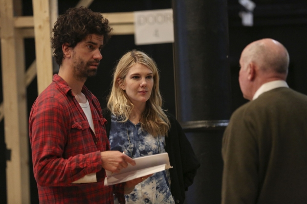 Hamish Linklater, Lily Rabe, and Jack O'Brien