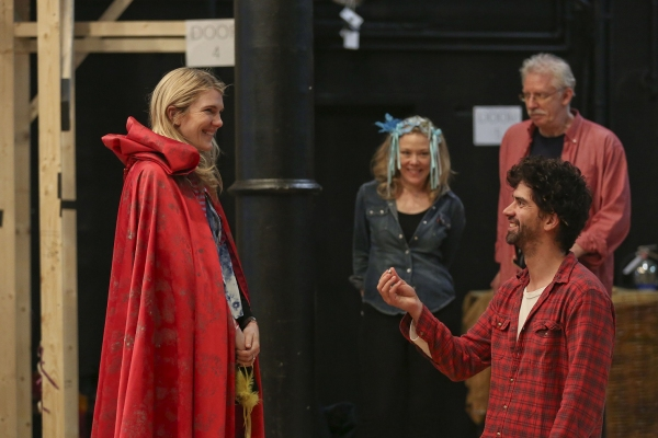 Photo Flash: In Rehearsal with Lily Rabe, Hamish Linklater, Brian Stokes Mitchell & More for The Public's MUCH ADO ABOUT NOTHING