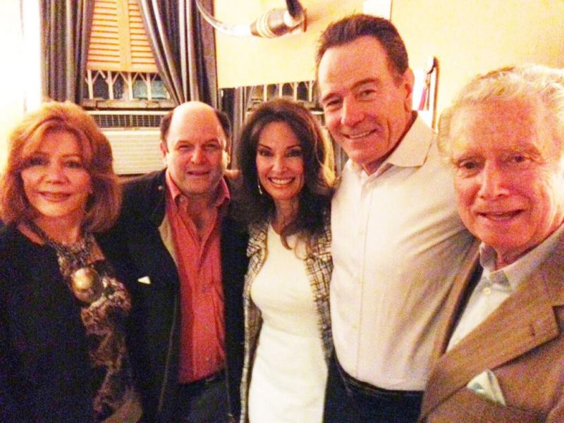 Twitter Watch: Susan Lucci, Jason Alexander, Regis and Joy Philbin Backstage with Bryan Cranston at ALL THE WAY