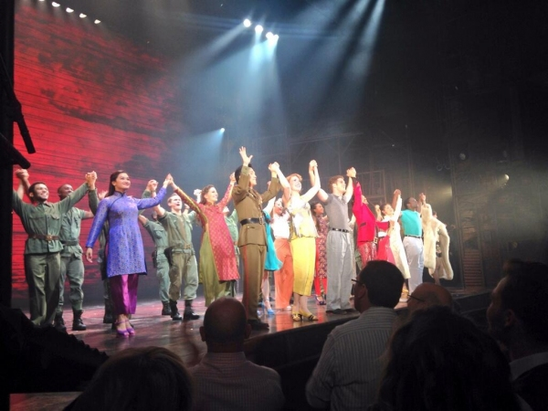 Photo Flash: MISS SAIGON's Opening Night Curtain Call at the Prince Edward Theatre