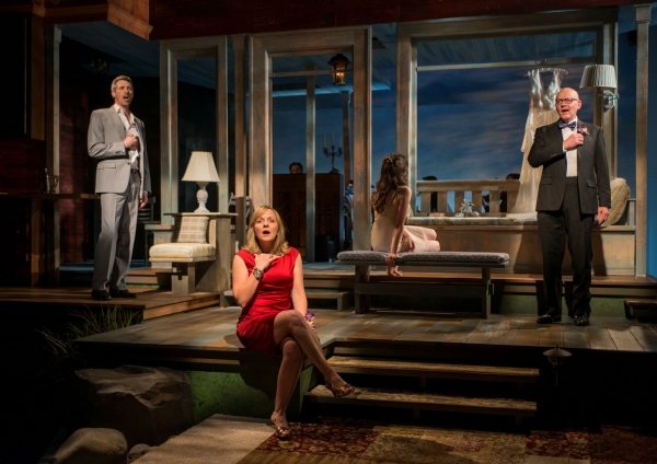 Jeff Parker (Francois), Susie McMonagle (Maria) and Jonathan Weir (Frank)