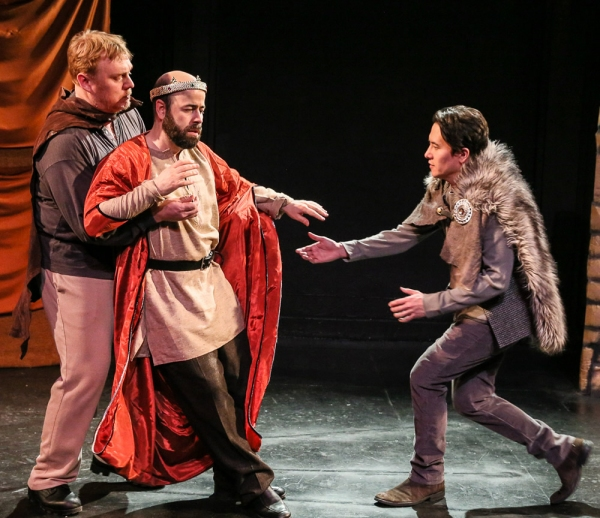 Photo Flash: Frog and Peach Theatre's KING JOHN