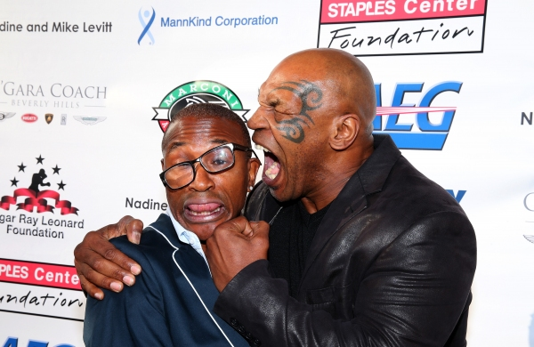 Actor/Comedian Tommy Davidson and former professional boxer Mike Tyson