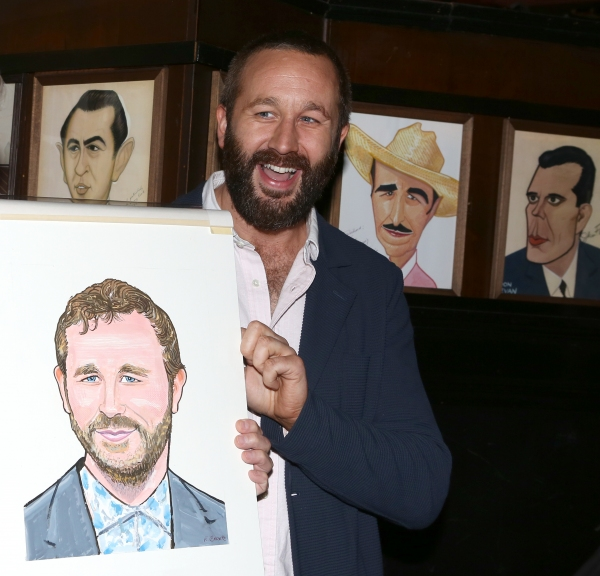 Photo Coverage: OF MICE AND MEN's James Franco, Chris O'Dowd & More Get Sardi's Caricatures