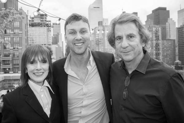 Jean Doumanian, Warren Carlyle, David Rockwell Photo