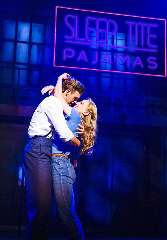 New Production Photos Of UK THE PAJAMA GAME Starring Joanna Riding & Michael Xavier
