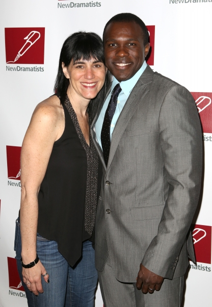 Leigh Silverman and Joshua Henry