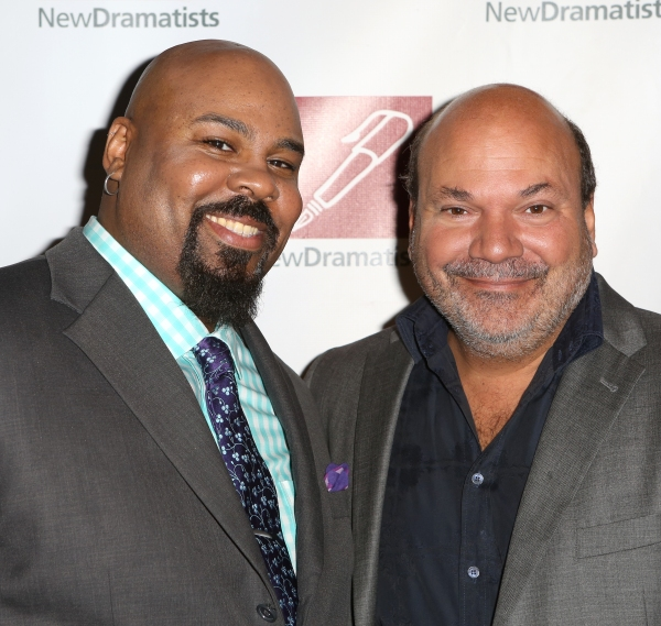 James Monroe Iglehart and Casey Nicholaw