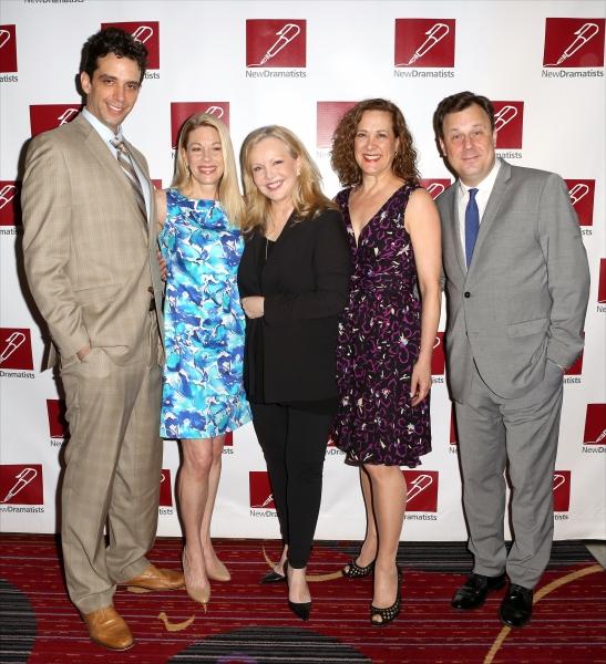 Nick Cordero, Marin Mazzie, Susan Stroman, Karen Ziemba, and Brooks Ashmanskas