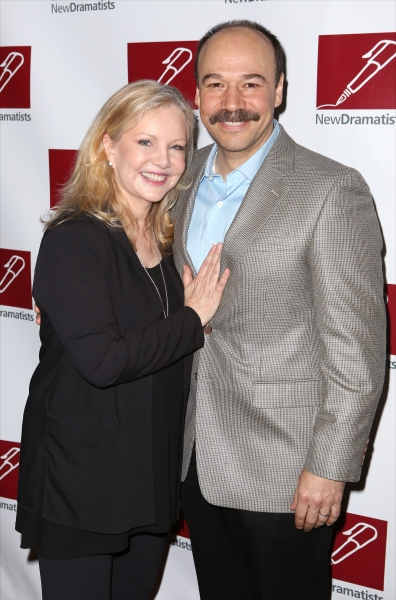 Susan Stroman and Danny Burstein