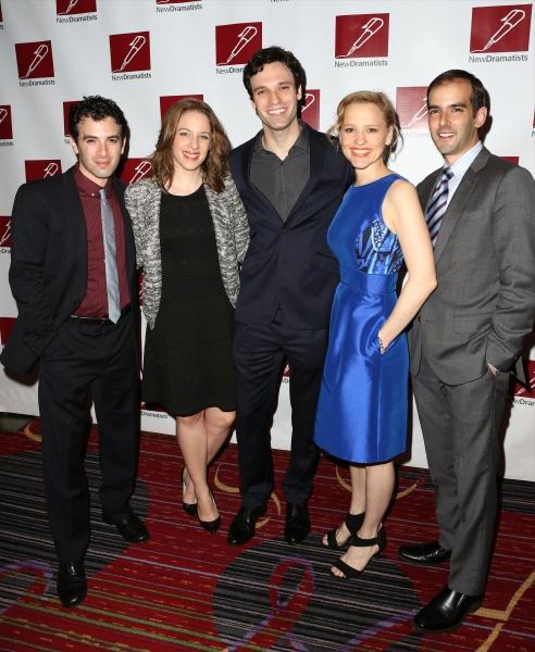 Jarrod Spector, Jessie Mueller, Jake Epstein, Anika Larsen and Marc Bruni