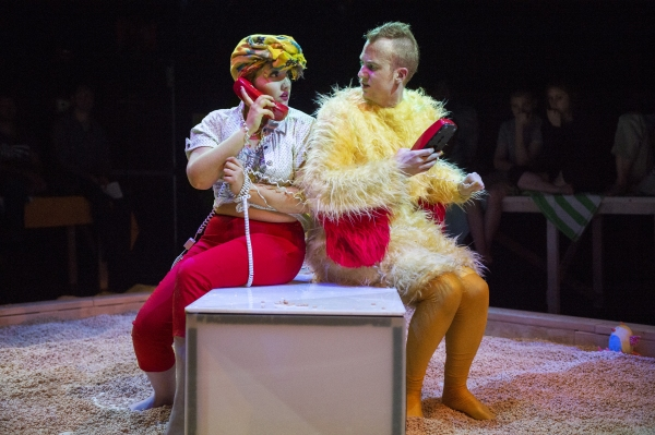 Photo Flash: First Look at Guerilla Opera's GALLO
